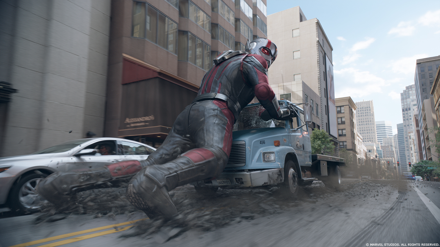 Ant Man And The Wasp Alessandro Ongaro Vfx Supervisor