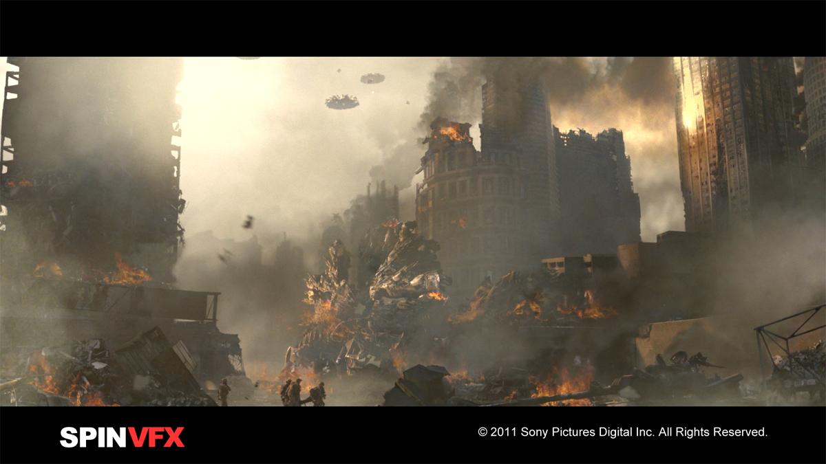 BATTLE LOS ANGELES: Jeff Campbell - VFX Supervisor - Spin VFX - The