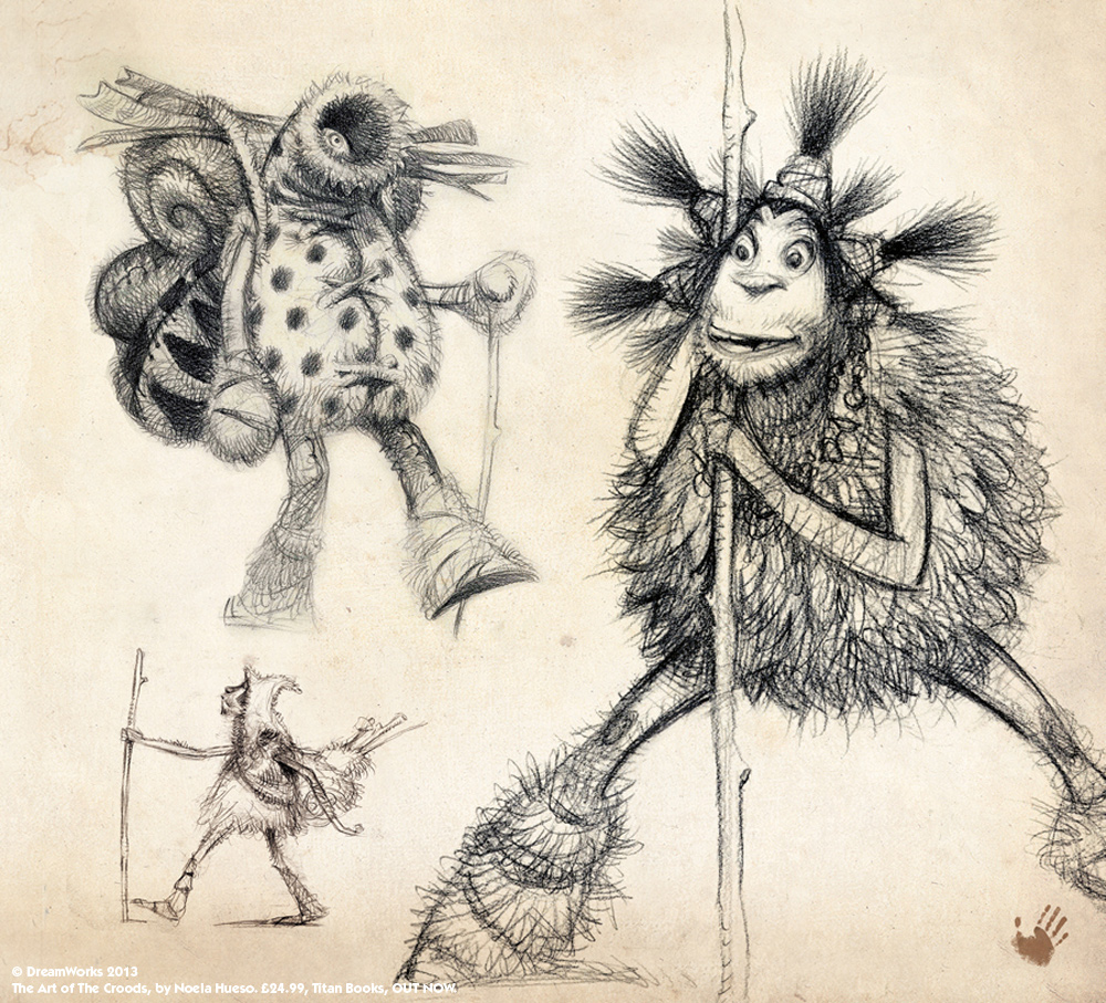 The Art Of The Croods Noela Hueso Titan Books The Art