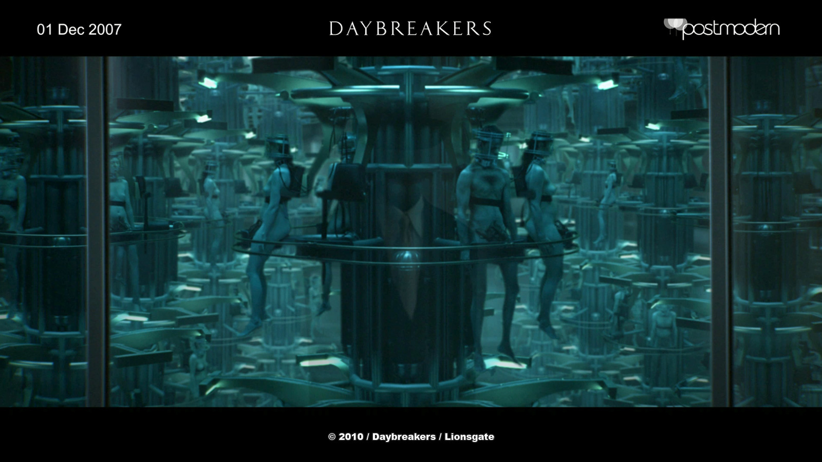 DAYBREAKERS: James Rogers - VFX Supervisor - Postmodern - The Art of