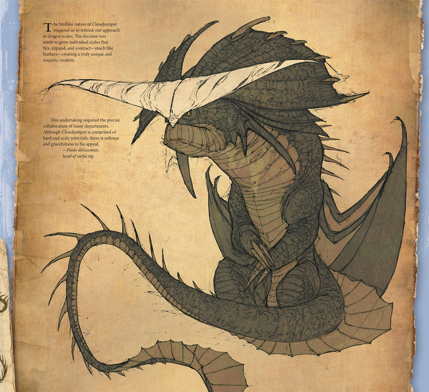 The art of how to train your dragon 2 linda sunshine titan books several pages are then dedicated to valka her dragon cloudjumper and her refuge the nest of dragons this section presents the new dragons including the ccuart Choice Image