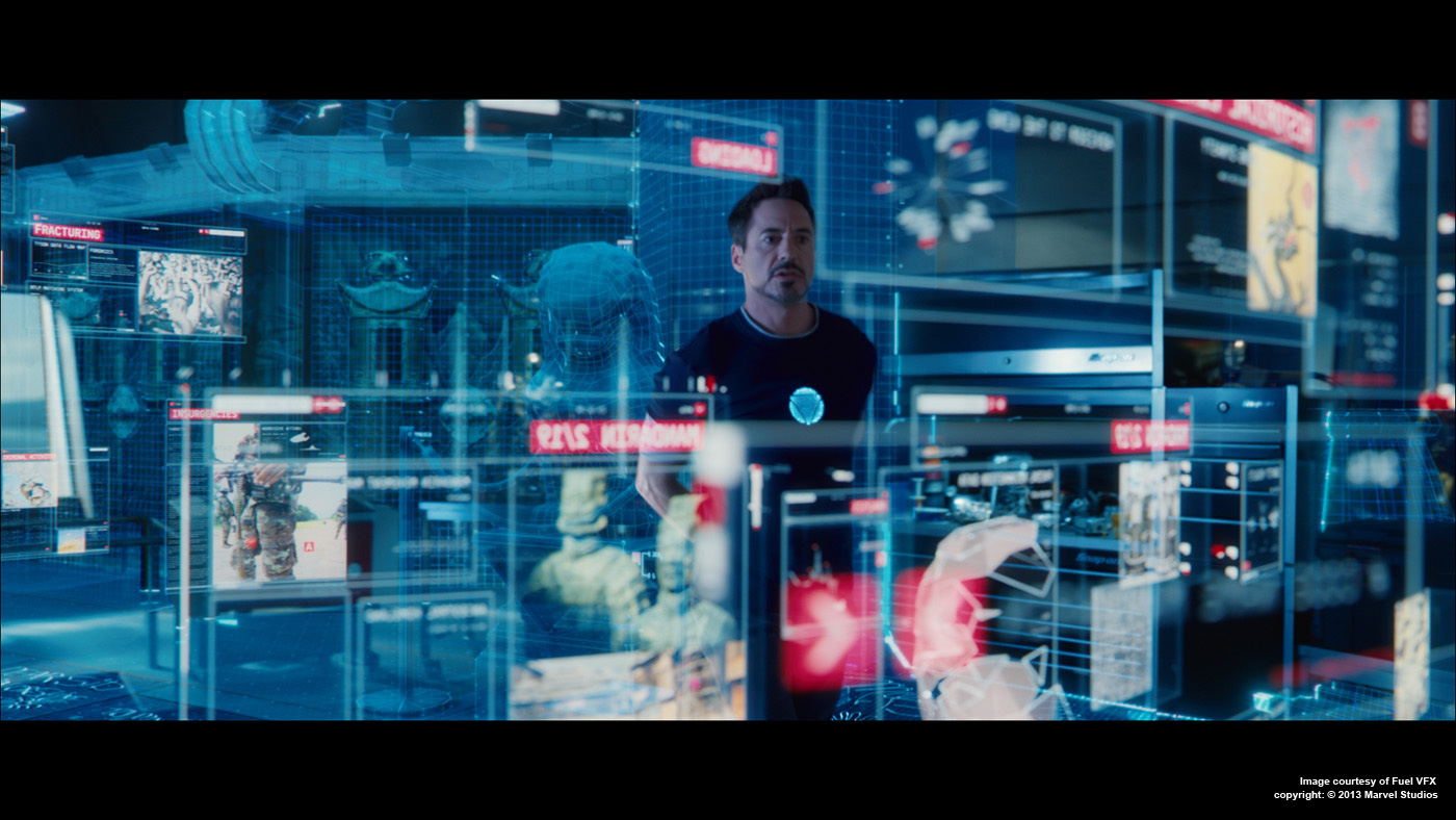 Iron Man 3 data viz scene