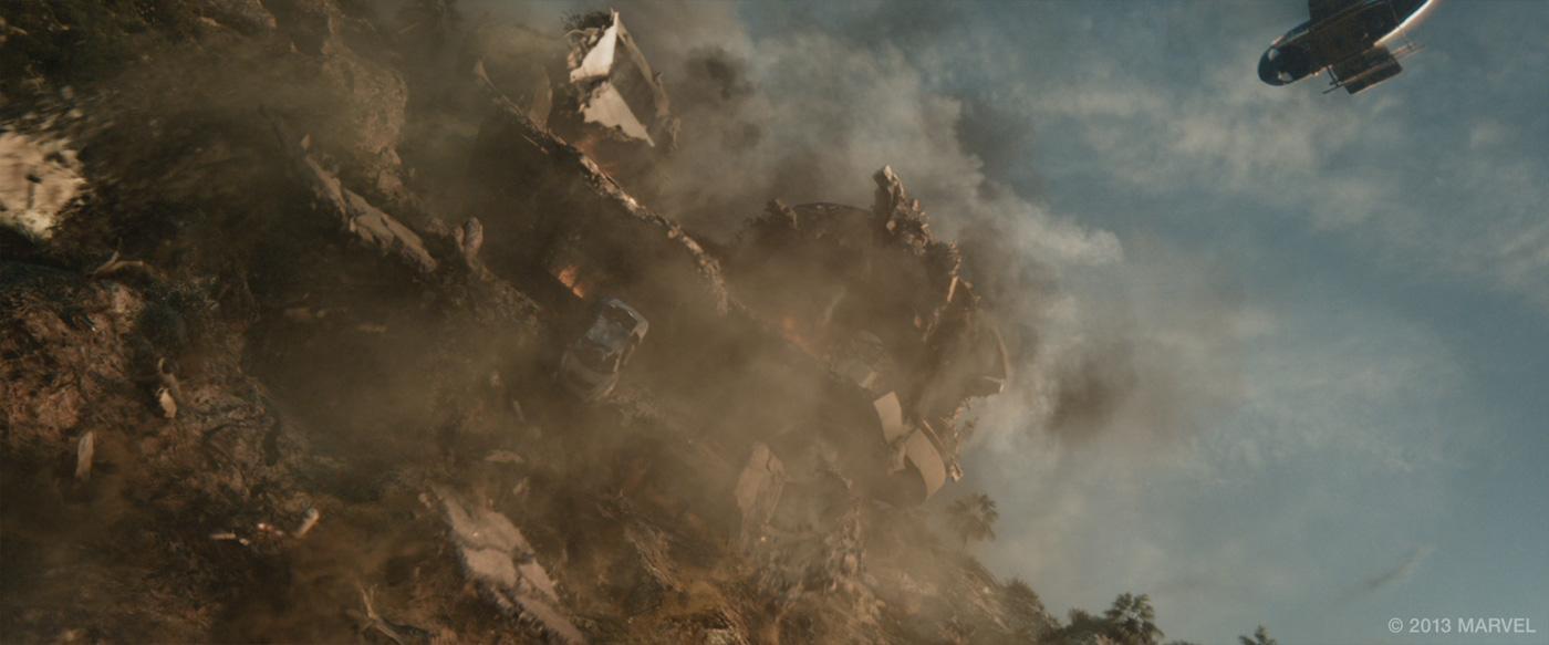 IRON MAN 3: Bryan Grill - VFX Supervisor - Scanline VFX - The Art of
