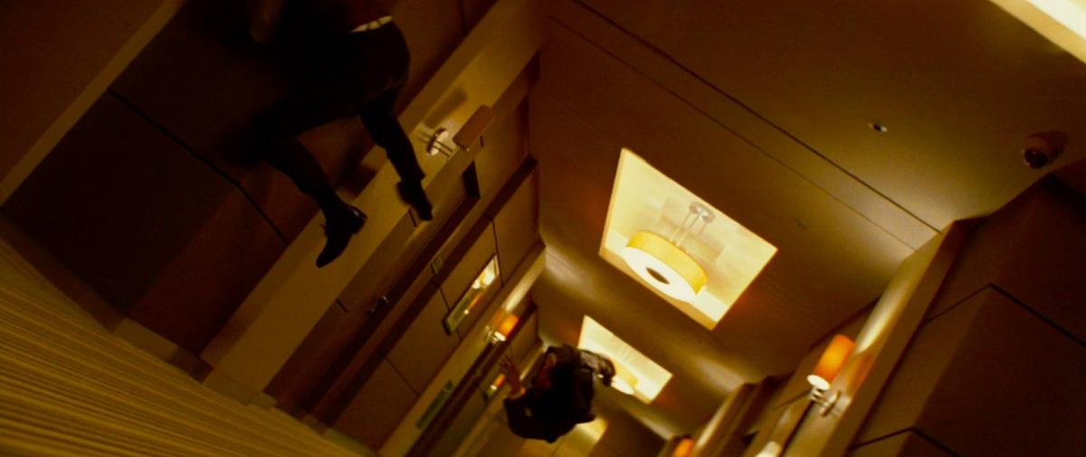 Inception Hotel Room Scene