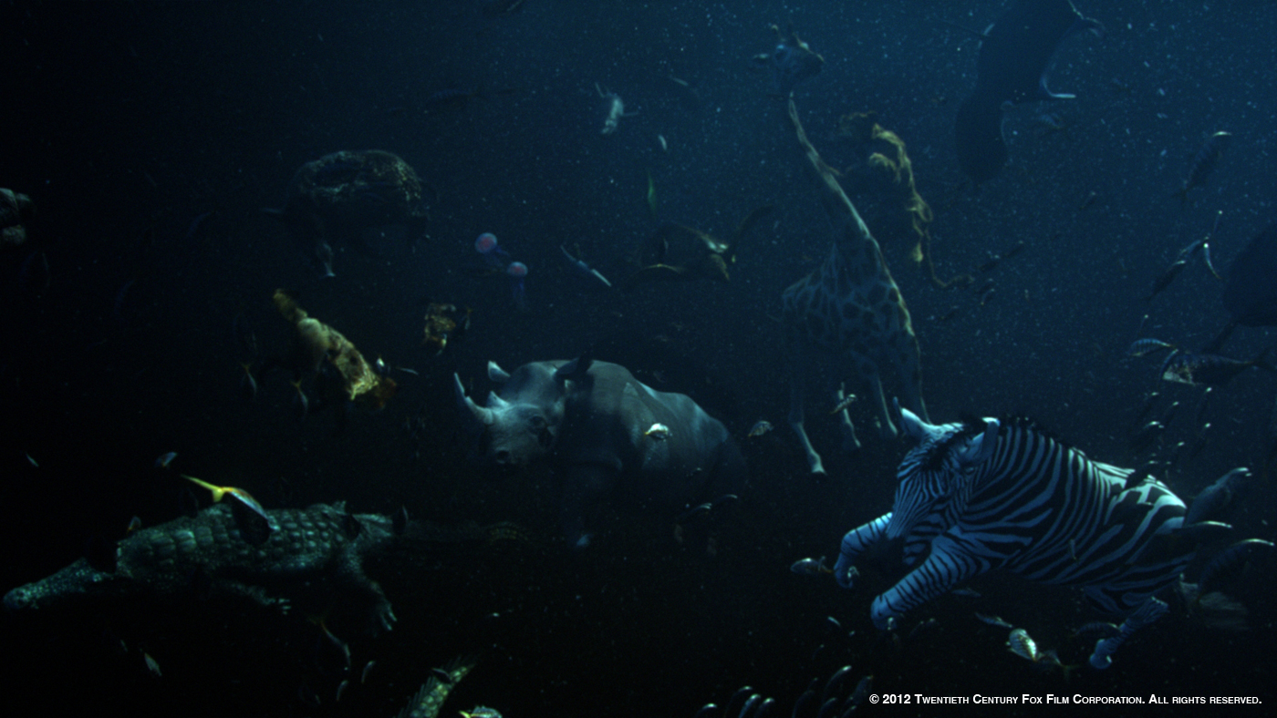 Life of pi geoffrey niquet vfx supervisor buf the for Life of pi characters animals