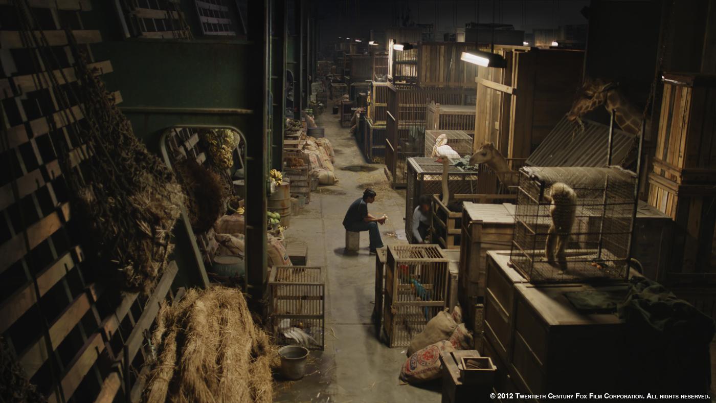 Life of pi max ivins vfx supervisor look effects for Life of pi characters animals