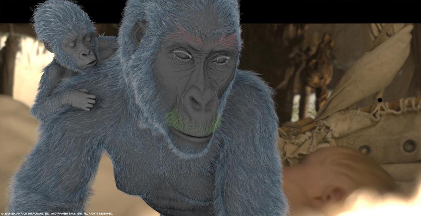 The legend of tarzan alex pejic vfx supervisor kevin spruce animation supervisor - Tarzan gorille ...