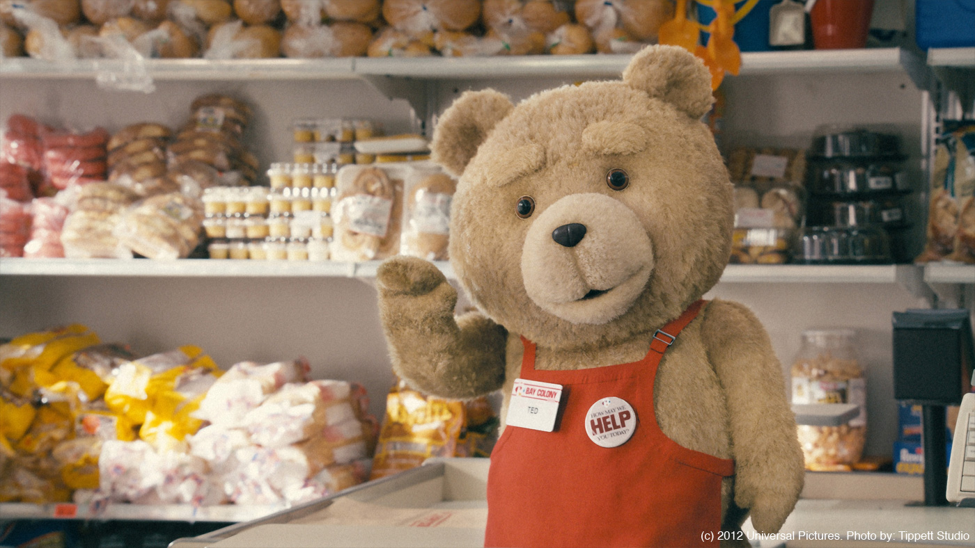 the gallery for gt ted the bear smoking weed
