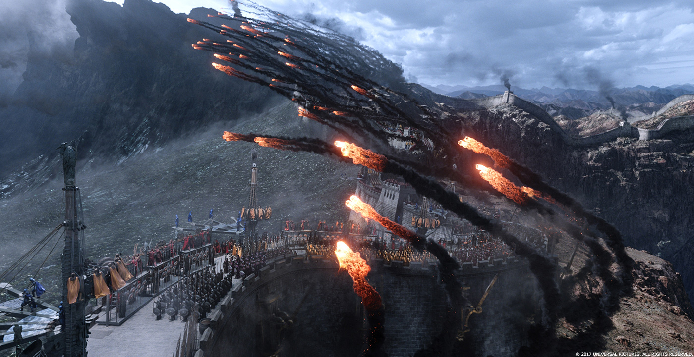 THE GREAT WALL: Samir Hoon - VFX Supervisor - Industrial