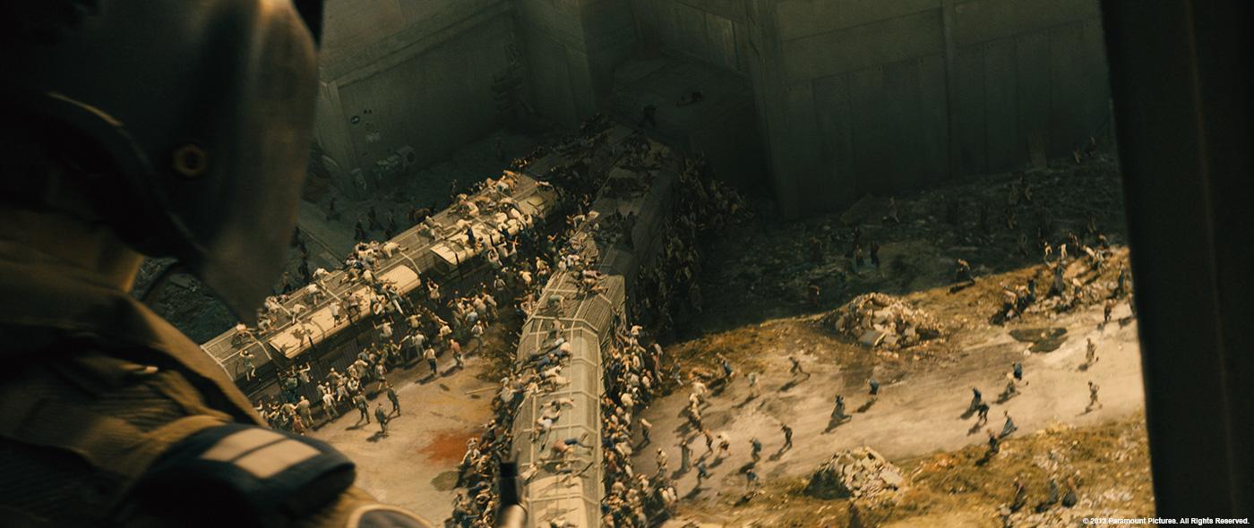 WORLD WAR Z: Jessica Norman - VFX Supervisor - MPC - The Art of