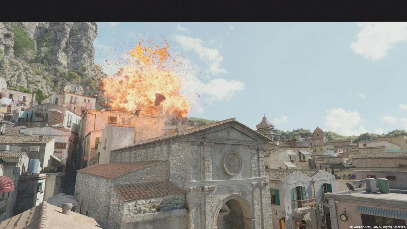 AQUAMAN: Before And After VFX Images Feature The Karathen