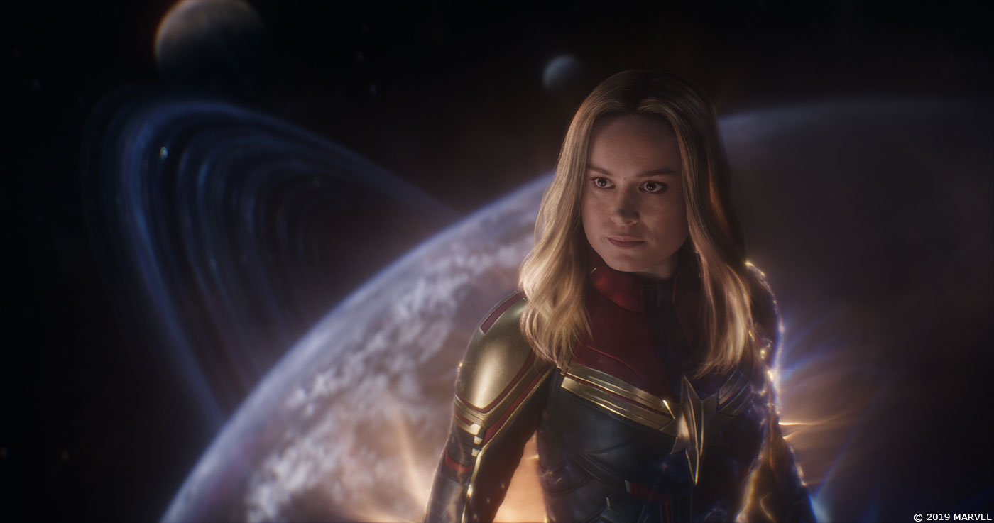 AVENGERS: ENDGAME VFX Stills Show Captain Marvel In Space And Reveal