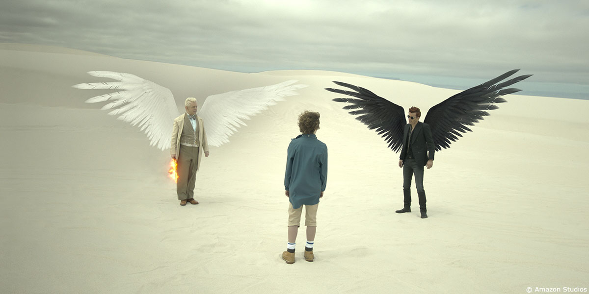 GOOD OMENS: Jean-Claude Deguara - VFX Supervisor & Co-founder - Milk