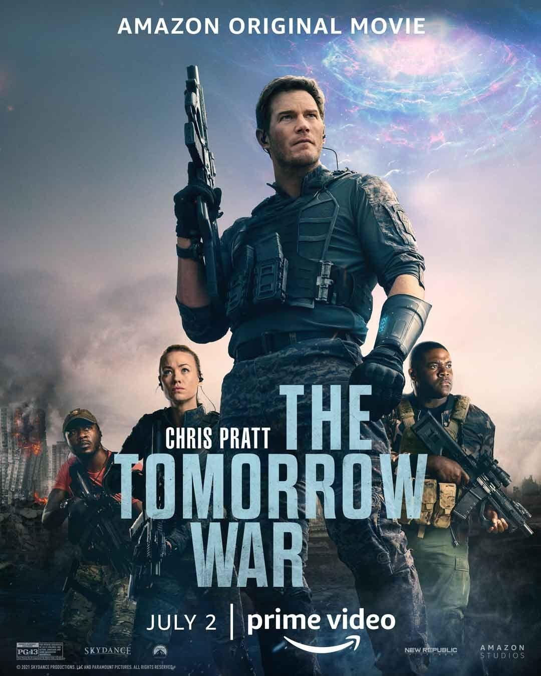The Tomorrow War (2021) Hindi Dubbed Official Trailer 2 1080p AMZN HDRip Free Download